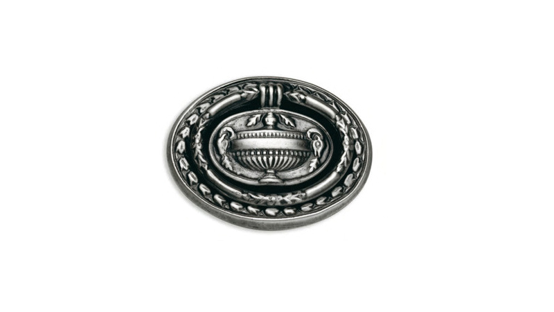 Classic furniture handles Tiradores con anilla grabados 30, 31