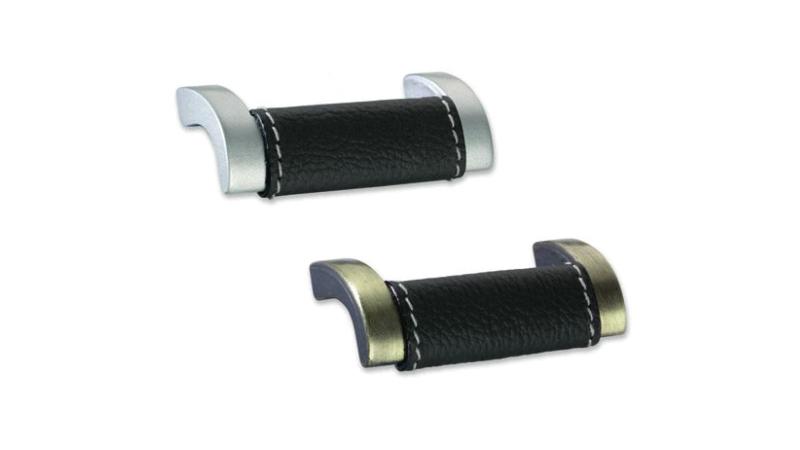 Furniture handles Tirador de cuero PO9, PO10