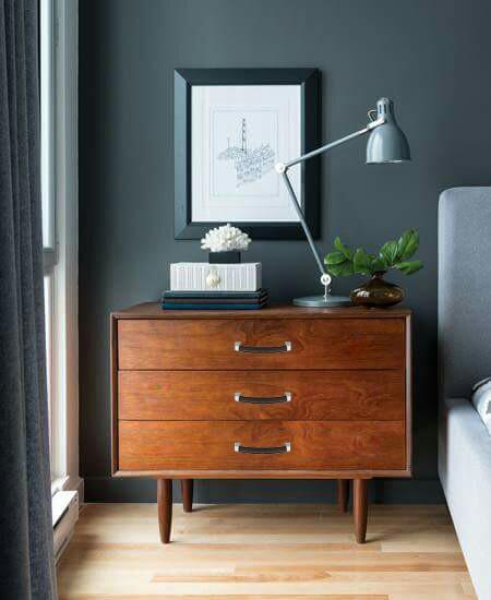 Asa de cuero para mueble vintage